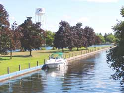 Rideau Canal in Smiths Falls.